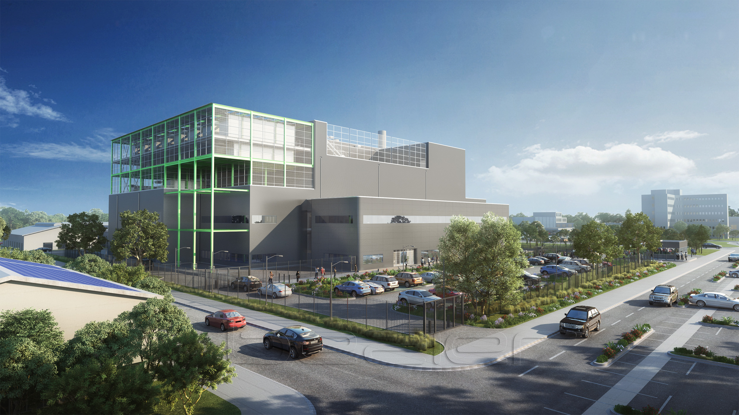 NDC-GARBE rolls out its first project in Hanau (Frankfurt/Main)